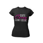 Cute Curvy Confident T-shirt